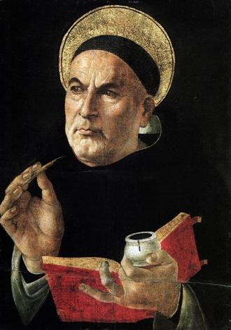 Daily Catholic Quote from St. Thomas Aquinas