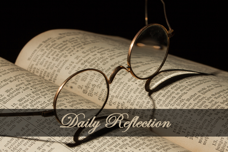 Daily Reflection — Christ Shows the Way to Humility