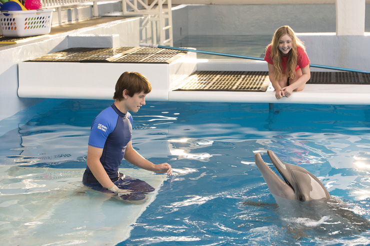 Behind the Scenes of the New Movie, <i>Dolphin Tale 2</i>