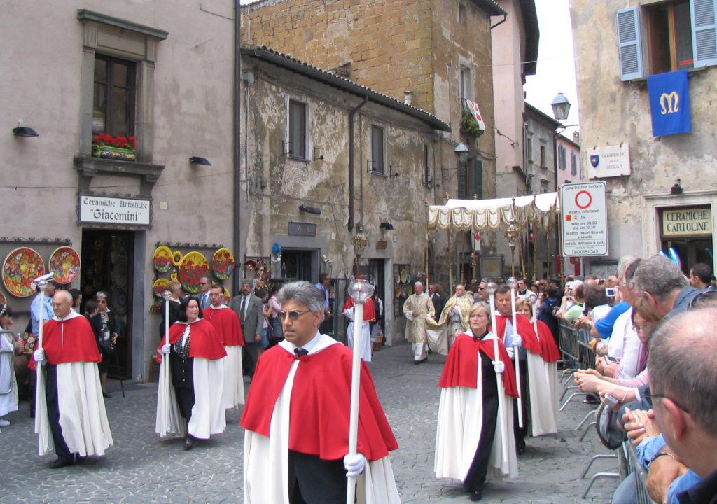 The Vision and Miracle of the Feast of Corpus Christi