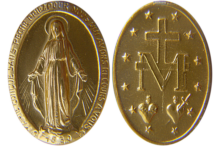 Christmas Blessings of Hope and Joy Through Mother Mary's Miraculous Medal