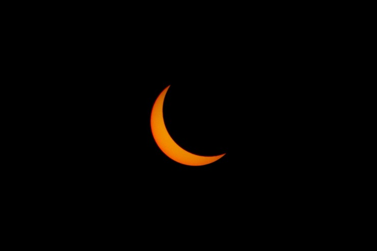 The Solar Eclipse and Praise for Our Creator