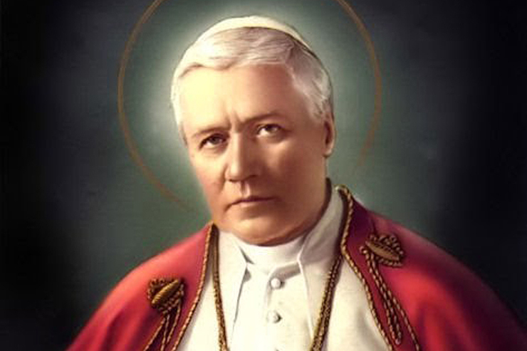 Daily Catholic Quote from St. Pius X