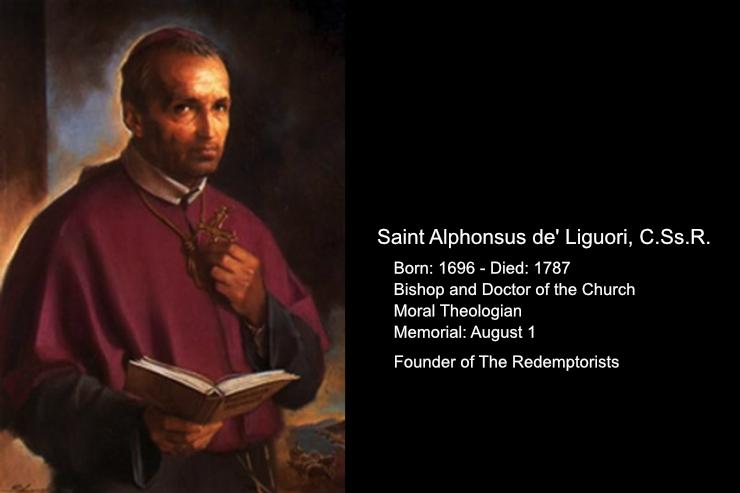 Daily Catholic Quote — from St. Alphonsus Maria de' Liguori