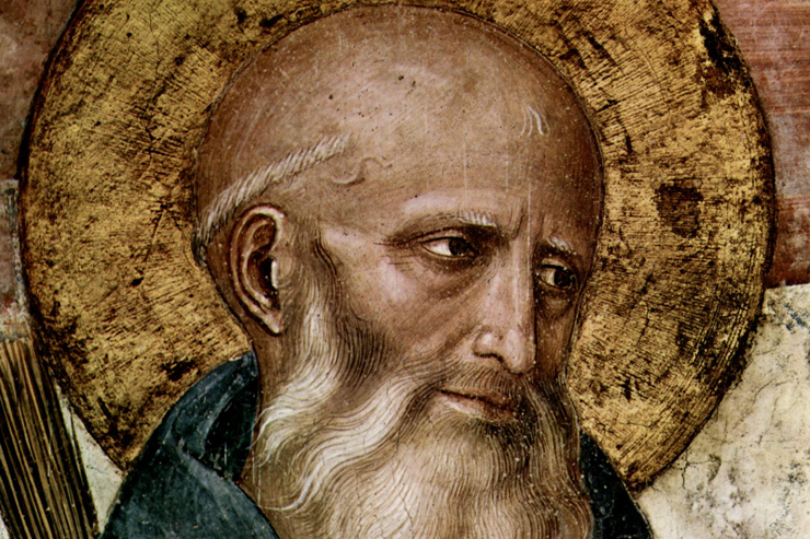 Daily Catholic Quote from St. Benedict of Nursia