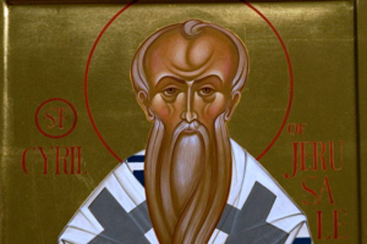 Daily Catholic Quote — from St. Cyril of Jerusalem