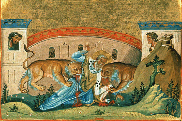 Catholic Quote of the Day — from St. Ignatius of Antioch
