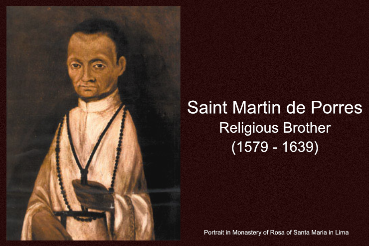 Daily Catholic Quote — from Saint Martin de Porres, Religious