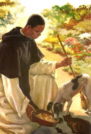 Daily Catholic Quote from St. Martin de Porres, Religious