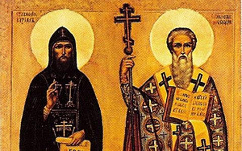 Daily Catholic Quote from St. Cyril to St. Methodius