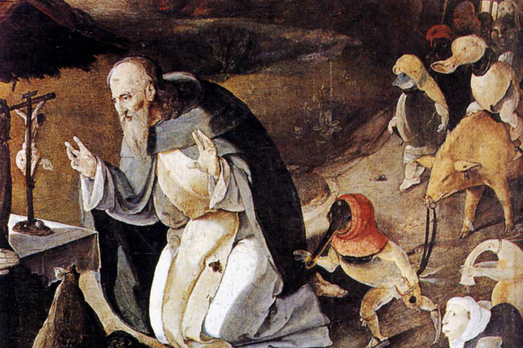 St. Anthony on Spiritual Reading